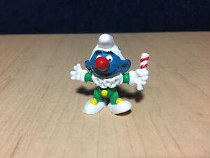 The Smurfs One Clown Smurf small figure Peyo Irwin Vintage 1995 NIP