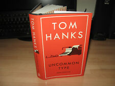 Tom Hanks - Uncommon Type 1st/1st 2017 short stories Oscar winner debut new HB