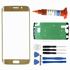 Front Touch Screen Glass Outer Lens Cover Adhesive for Samsung S6 edge Plus G928
