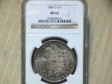 Silver NGC Grade MS 63 US Dollar Coins