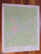 Gilmore Alabama 1977 Original Vintage USGS Topo Map