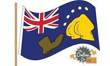 Australian Simpsons Flag Massive 150cm x 90cm Rrp$79.95 Australia Day Dollarydoo