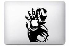Sticker pour MacBook Pro Air - Ironman - Noir ou Blanc