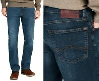 Mustang Herren Jeanshose Big Sur Comfort Medium Straight 942 Blau W34 - W42