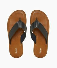 Dune London The Ivan Toepost Leather Sandal, Navy, UK7 (EU41), Brand New, RRP£45