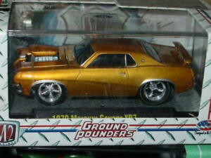M2 MACHINES 1970 70 MERCURY COUGAR XR7 COLLECTIBLE MUSCLE CAR -Gold, MIB