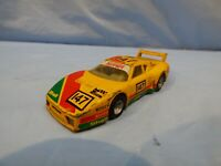Vintage 1983 Matchbox Specials Ferrari 512 BB Yellow Racing Diecast Car Toy