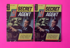 Secret Agent #1 (1966) Gold Key Comics VG+