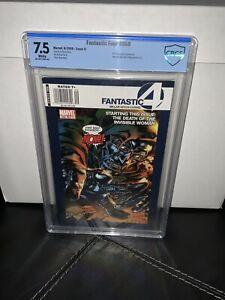 Fantastic Four #558 CBCS 7.5 Newsstand Edition