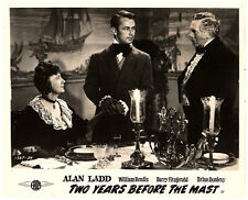 Two Years Before The Mast original lobby card Alan Ladd in dining scene