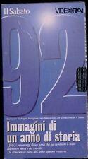 1992 vhs NUOVO immagini di un anno di storia 92 video RAI