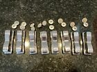 8 Vintage Ludwig Jazz Festival Classic Snare Drum Lugs With Screws