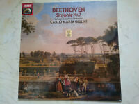 Beethoven Symphonie Nr.7 Chichago Symphony O Giulini Emi LP Mint Scellé