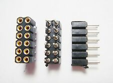 10 x buchsenleisten PRESA 2x6polig 2,0mm INTRECCIATO ORO #14u66