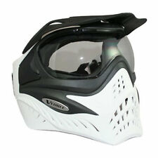 V-Force Grill Thermal Paintball Mask - Black on White - NEW