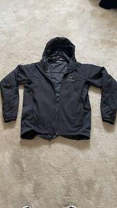 BNWOT Arcteryx Atom LT Hooded Jacket Black Medium Cerium RRP £239