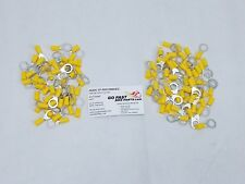 New Ring Terminals 10-12 Guage Vinyl 100 pack *Free US Shipping*