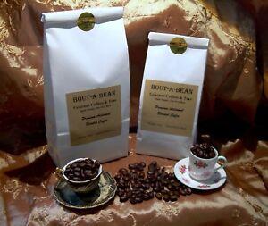 Coffee Whole Bean 100% Arabica Butterscotch Pecan Flavor CB
