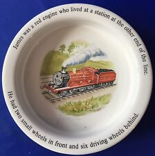 James The Red Engine Bowl Wedgwood Ceramic Thomas The Train And Friends England