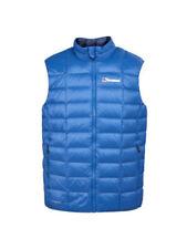 Capi d'abbigliamento da campeggio blu piuma
