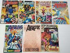 GI) Lot of 7 Marvel Avengers West Coast Comic Books