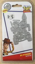 Disney Pixar Toy Story RC Power! Metal Die With Face Stamps
