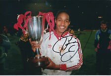 Paul INCE Signed Autograph 12x8 Photo AFTAL COA Man United Premier League Winner