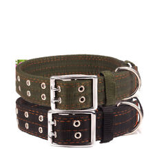 Nylon Dog Collar Durable Pet Collars Adjustable for Labrador Dog German Shepherd