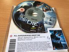 All Superheroes Must Die (DVD, 2013) DISC ONLY