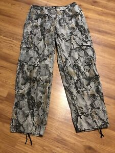 Mens Natural Gear Camo Pants, size L