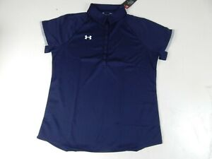 Under Armour Women's UA Rival Polo, Size Large