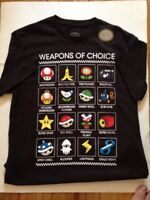 SUPER MARIO Gamer Nintendo Licensed Adult T Shirt MEDIUM