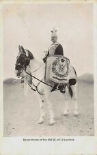 POSTCARDS  MILITARY   21st  (  E of  I  )  LANCERS     DRUM  HORSE