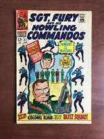 Sgt Fury #41 (1967) 6.0 FN Marvel Key Issue Silver Age Comic Book Stan Lee