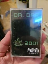 Dr Dre 2001 Cassette Tape Vintage Rap TESTED Plays Great! 90's