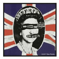 SEX PISTOLS - Patch Aufnäher God save the queen 10x10cm