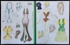 Paper Doll Contest Winner Magazine Paper Doll, 2010, by Kathy McManis