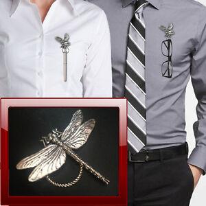 Dragonfly C3 Brooch drop hoop Holder For Glasses , Pen , ID