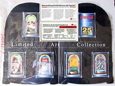 Telefonkarten 25 jahre toom - set  6 coke coca-cola cards in jukebox folder MINT