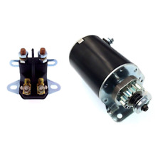 Starter with Solenoid For Cub Cadet Tractors 2160 2164 1440 1641 1215 1220
