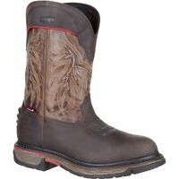 Rocky RKW0202 Iron Skull Waterproof Western Boot - Dark Brown, 11.5 M