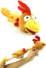 SLINGSHOT FLINGSHOT FLYING CHICKEN TOY w/ SOUND flingshot dog rooster sound G20