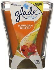 Vela En Frasco De Vidrio Fragancia Brisa Hawaiana Aromaterapia Relajante Glade