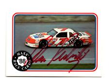 Alan Kulwicki original hand signed autographed MAXX '88 card