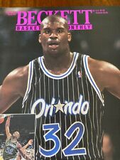 Beckett Basketball Magazine Monthly Price Guide August 1993 Shaquille O'Neal