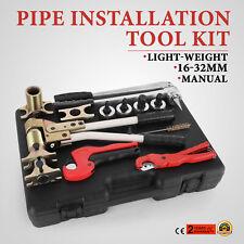 Pinza Crimpatrice Pressatrice per Multistrato Manuale per Tubo PEX PVC 16-32mm