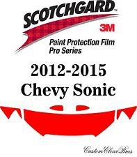3M Scotchgard Paint Protection Film Pro Series Hood Kit 2012 2015 Chevy Sonic