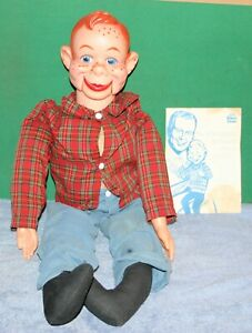 Vintage HOWDY DOODY VENTRILIQUIST PUPPET IN ORIGINAL BOX WITH INSTRUCTIONS