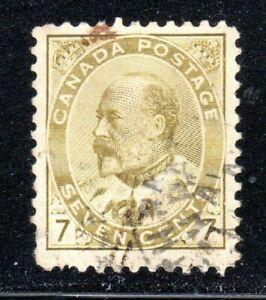 1903 Canada SC# 92 King Edward VII Lot# CU318 Used