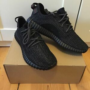 Adidas Yeezy Boost 350 in Pirate Black by Kanye West in size US10 / EU44.